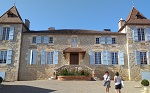 Wine tasting at Chateau Gaudou